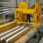 Powder Coated Aluminum Reels And Conveyor Systems.