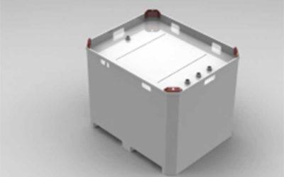 Powder Coated Double Wall Fuel Tank